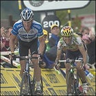 Lance Armstrong and Alejandro Valverde
