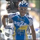 Sylvain Calzati winning Stage 8 of the Tour. (Beth Schneider)