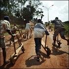 Rwanda bike race