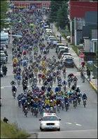 LT100 MTB Race starting line