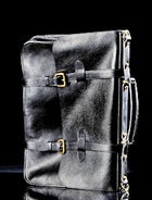 Lotuff and Clegg Leather Briefcase