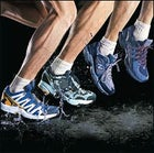 From left: The Salomon's XA Pro GTX, Nike's ACG Air Thielsen, New Balance's 705, and the Adidas Response Trail 8