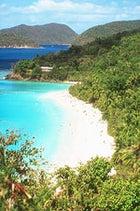 The coast of St. John's, Virgin Islands National Park