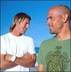 Andy Irons, Kelly Slater