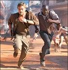 Leonardo DiCaprio & Djimon Hounsou