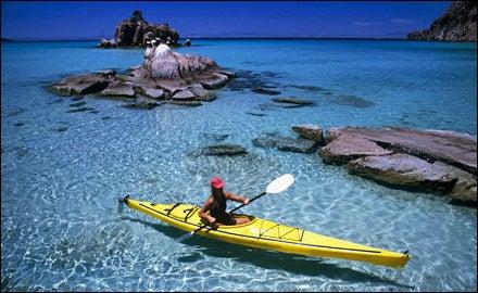 Kayaking the Sea of Cortez, Baja, Mexico