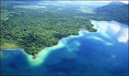 Miramar Lagoon, Chiapas, Mexico