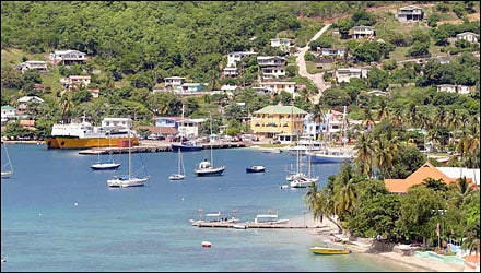 Bequia Sailing, Grenadines