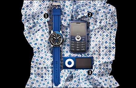 Fossil AM4258, LG enV3, Apple iPod Nano