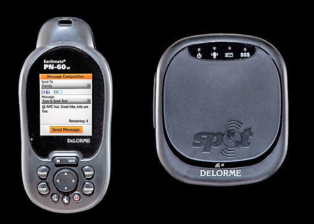 Delorme's PN-60W and SPOT Satellite Communicator