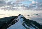 Greeting the midnight sun, Brooks Range, Alaska.