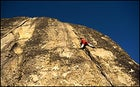 The spread-eagle shuffle: rock climbing at its finest