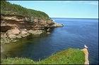 Isle Bonaventure Gaspe in Quebec