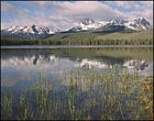 The jagged face of Idaho's Sawtooth Wilderness