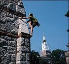 A higher power: climbing Dartmouth's Rollins Chapel