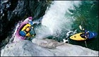 Dropping in: Burnt Ranch Gorge, on California's Trinity River