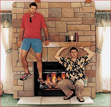 Photographed on location at G&I Homes, Oneonta, New York. Models: Joe DeSalvo and Curtis Dexter.