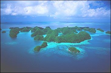 Green acres: Palau's limestone islands