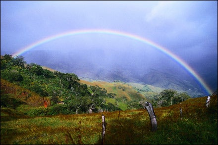 MORE THAN A MERE POT OF GOLD: The scenery and off-track splendor is the real treasure in the Costa Rica Cross-Country Traverse.
