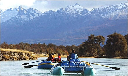 Rio Baker River, Chile