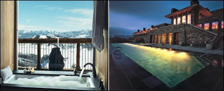 Amangani Resort in Jackson, Wyoming