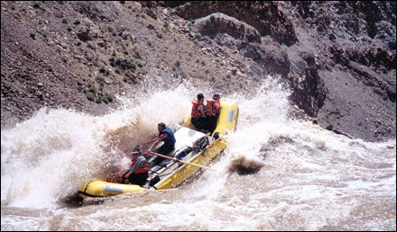 Rafting in Canyonlands