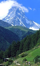 The hills are alive: walking near the Matterhorn on the 100-mile Haute Route