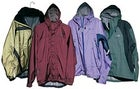 From left to right: Mountain Hardwear Tempest SL Anorak, Patagonia Supercell, Cloudveil Drizzle, The North Face Flight Jacket