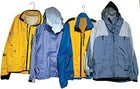 From left to right: Pearl Izumi Passage, Sierra Designs Tempest, Golite Flux Jacket, Marmot Liquid Steel