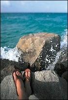Gravis's leather Low Tide sandal