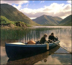 THE LUCK OF THE IRISH: Delphi Lodge's placid waters