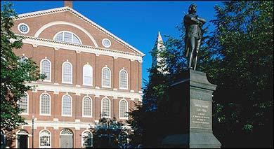 Faneuiel Hall, Boston