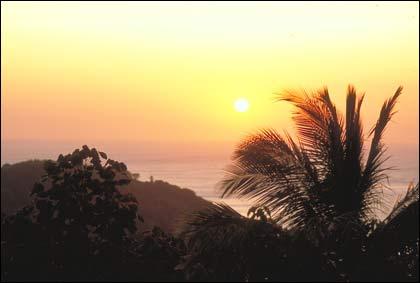 The sun sets on Phuket