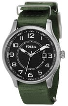 Fossil Analog Black Dial