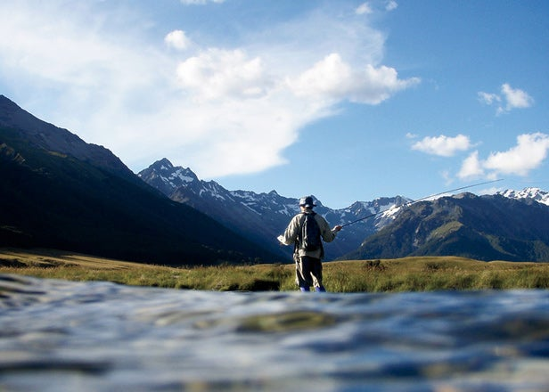 Fly-Fishing New Zealand's Ahuriri River