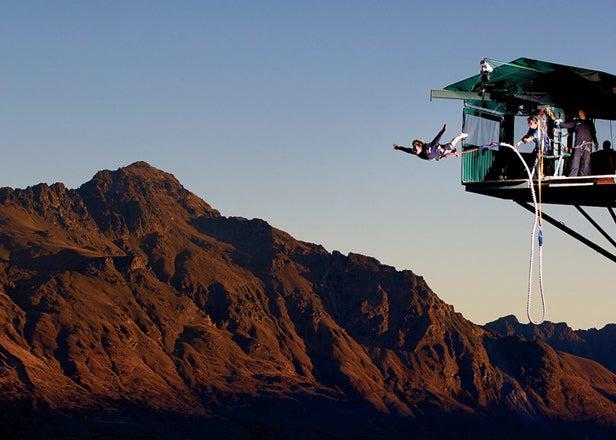 Queensland, New Zealand, bungee jumping
