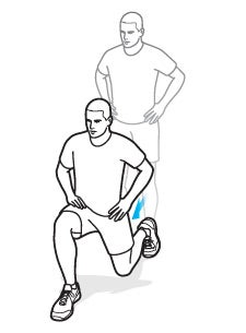 In-Place Lunges