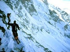 Steep learning curve: instructor Doug Coombs on La Meije Coulouir, La Grave, France