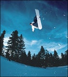 We have liftoff: Burton snowboarder Keir Dillon in his natural element