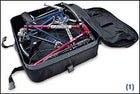 The 19-pound  RITCHEY BREAKAWAY TRAVEL BIKE  is the first packable full-size high-performance road rig. An ingenious coupling system unites the two-piece frame, and it breaks back down and fits inside its own light, airline-friendly case. ($2,500; 800-748-2439, www.ritcheylogic.com)