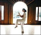 Sixty-two-year-old tai chi instructor Anne Walsemann at the New Age Health Spa