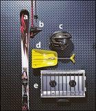 Nordica's Hot Rod Top Fuel XBS Piston Controls Ski, K2's 6 Speeds and 6 Karat Poles, Giro's Streif Ski-Racing Helmet, Indigo's Snow Logic Shovel, and Brunton's Wind River Range