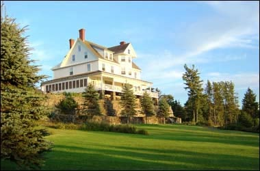 And old-fashion wedding in New England: Maine's Blair Hill Inn