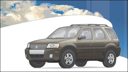 2006 Mercury Mariner Hybrid 4WD