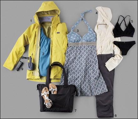 Women's travel gear