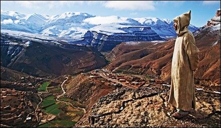 Morocco's Tatooine look-alike Atlas Mountains