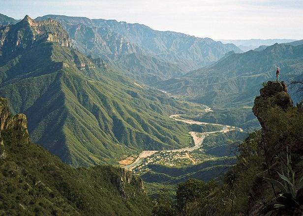 Copper Canyon vista