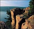 Wicked vista: Devil's Lake State Park, Wisconsin.