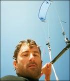Kiteboarding in Ventura