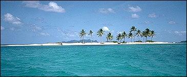 A thin slice of paradise: Grenada's Sandy Island